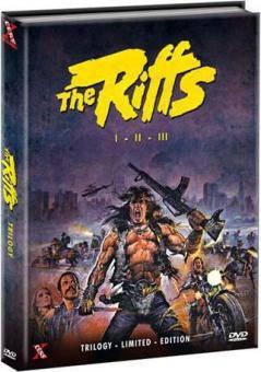 *The Riffs - I - II - III Mediabook Cover B *
