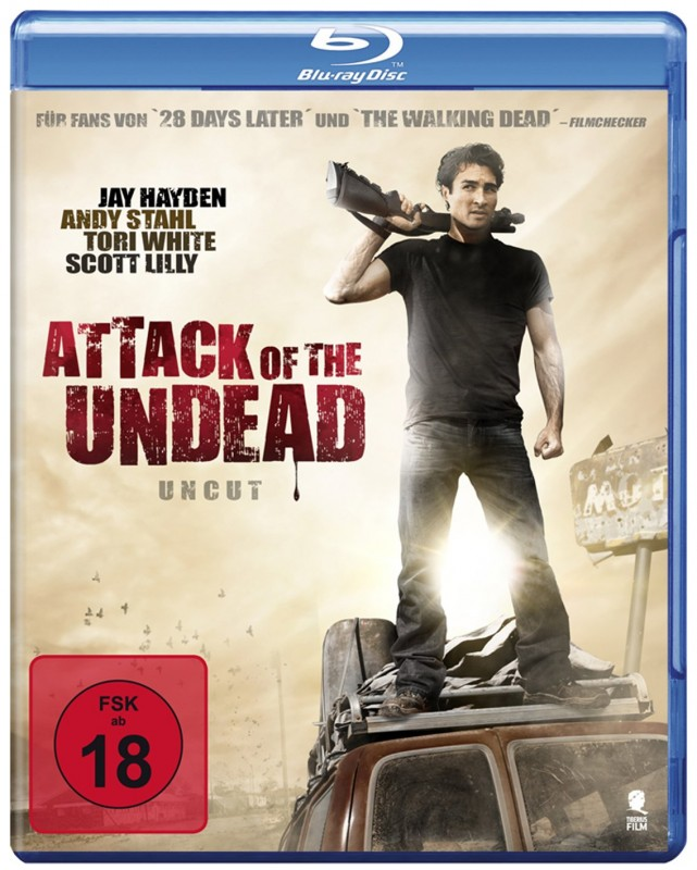 Attack of the Undead - Uncut Blu-ray Neu
