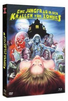 *Eine Jungfrau in den Krallen von Zombies Mediabook Cover B*