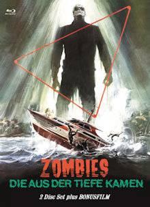 *Zombies die aus der Tiefe... Shock Waves Mediabook Cover C*