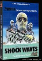 *Zombies die aus der Tiefe... Shock Waves Mediabook Cover B*
