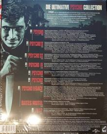 Psycho Legacy Collection DeLuxe 8 BluRay Uncut Fassung OVP
