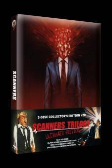 *Scanners Trilogy (3-Disc Mediabook, 2 Blu-ray's+CD)