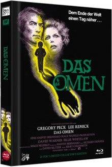 *Das Omen (Limited Mediabook, Blu-ray+DVD, Cover A)*