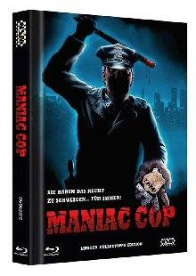 *Maniac Cop (Limited Uncut Mediabook Cover C*
