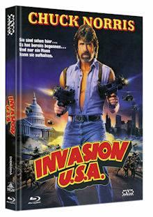 *Invasion U.S.A. (Limited Mediabook, Blu-ray+DVD, Cover A)*