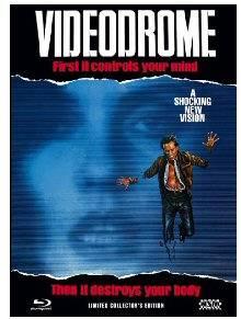 *Videodrome (Limited Mediabook, Blu-ray+DVD, Cover A)*