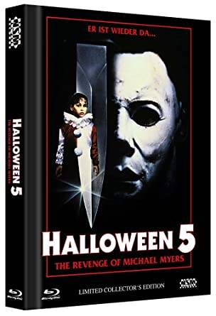 *Halloween 5 Die Rache des Michael Myers Mediabook Cover A*