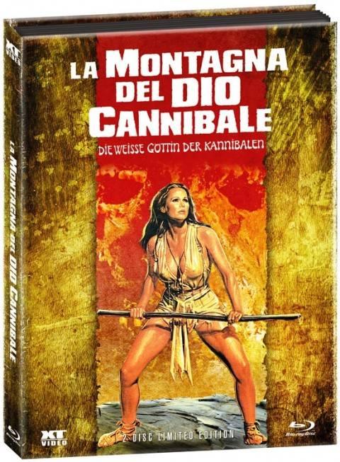 *Weisse Göttin der Kannibalen, Die Wattiertes Mediabook*