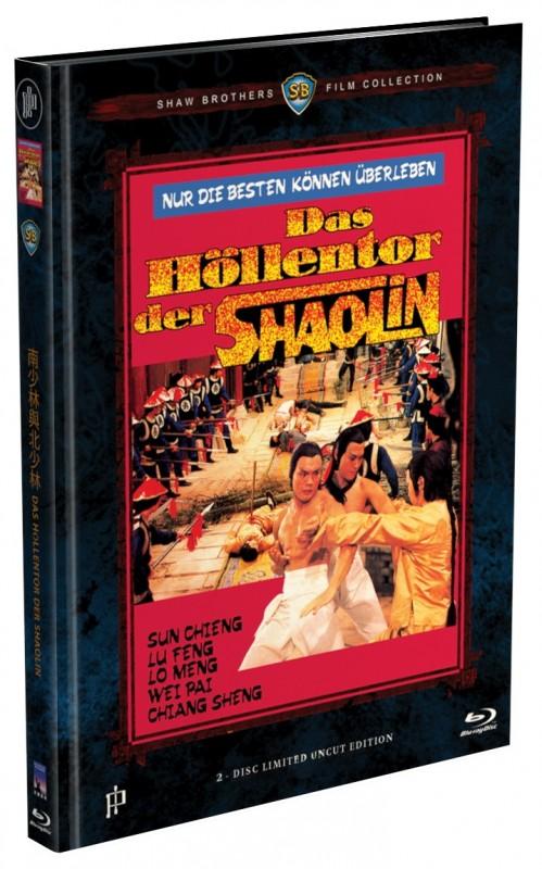 Das Höllentor der Shaolin - 2-Disc Mediabook A - NEU/OVP