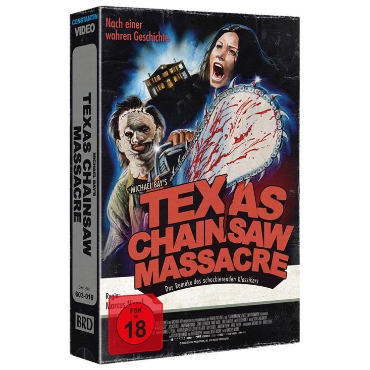 Texas Chainsaw Massacre VHS RETRO ED   Cover A