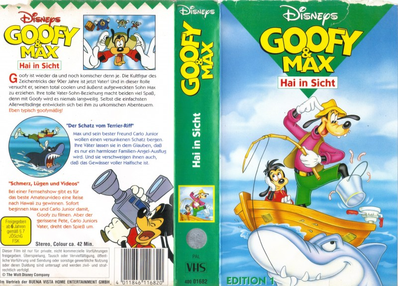 Goofy & Max - Hai in Sicht - Sehr Rar
