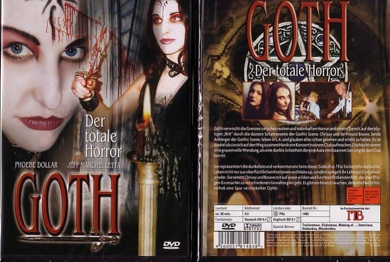 Goth - Der Totale Horror(19025412, NEU, OVP)