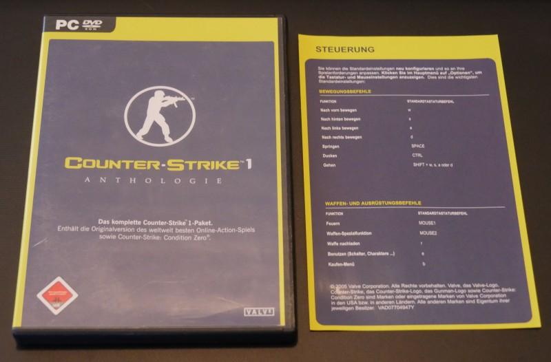 Counter-Strike 1 - Anthologie - PC - Counter Strike