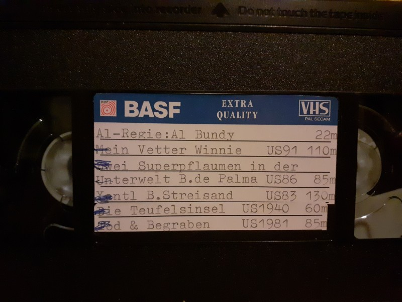 Leerkassette VHS ideal for long play Nr. 395