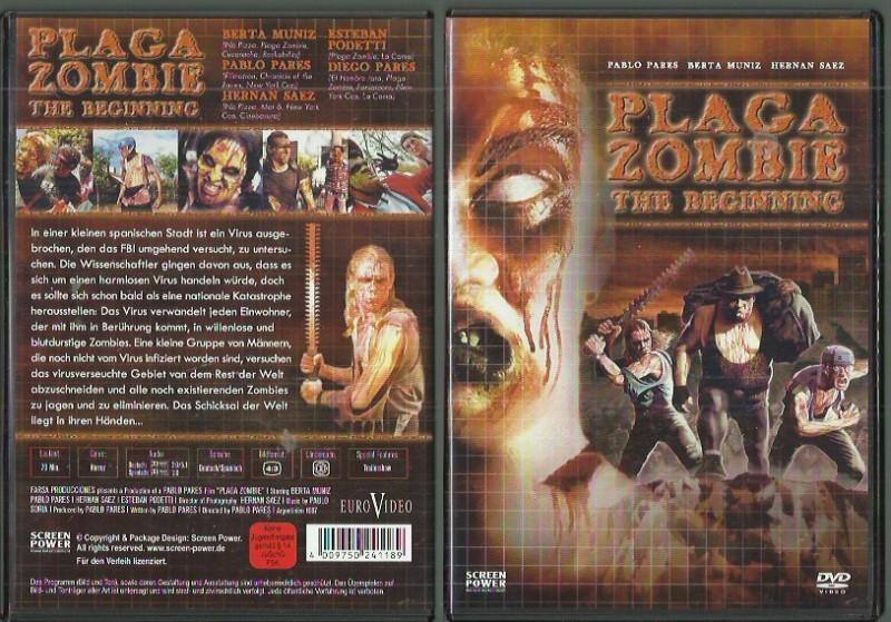 Plaga Zombie - The Beginning (501154146 DVD Konvo91