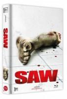Saw (Lim. Director's Cut Mediabook - Cover F) (BLURAY)