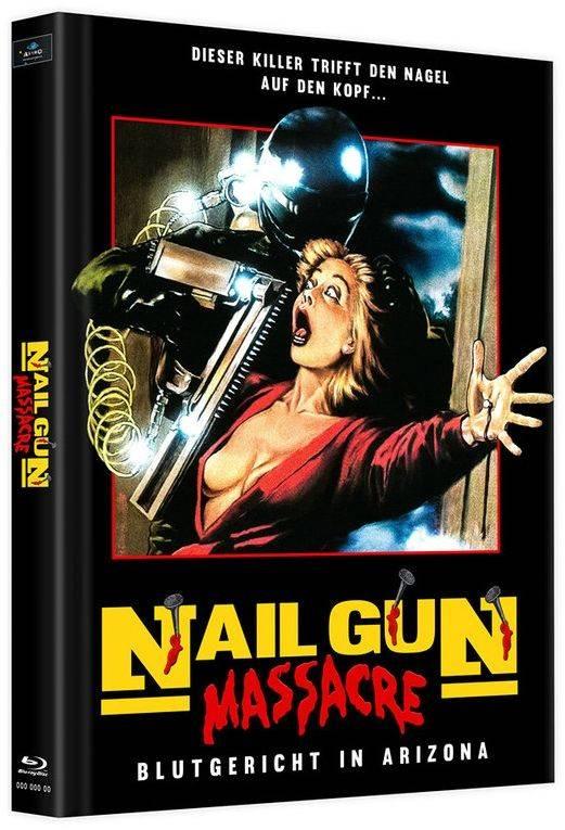 Nail Gun Massacre (Lim. Uncut Mediabook - Cover B) (2 Discs)