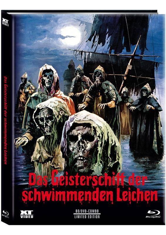 Das Geisterschiff der schwimmenden Leichen - Mediabook A