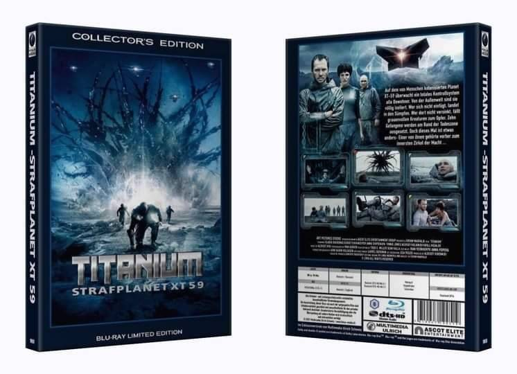 Titanium - gr. Hartbox (Blu Ray) NEU/OVP