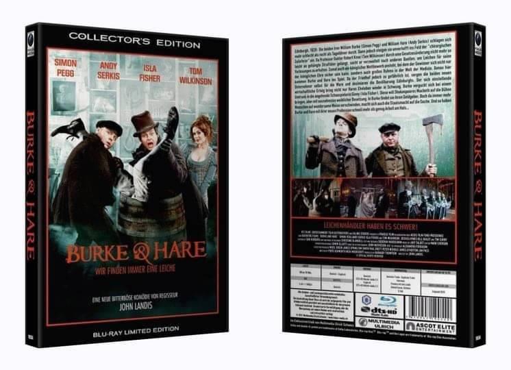 Burke & Hare - gr. Hartbox (Blu Ray) NEU