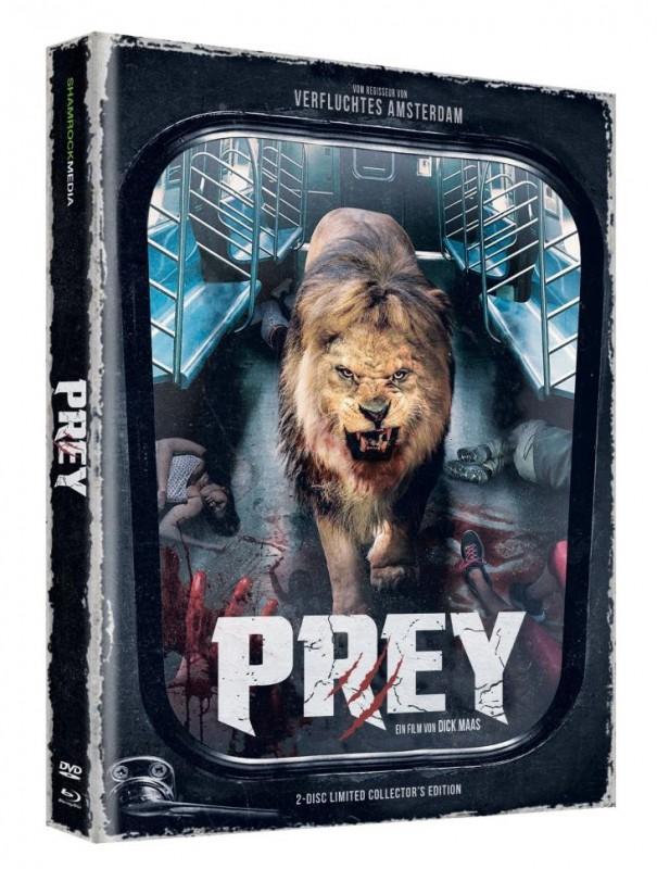 PREY - Mediabook-LIm 111- DVD/BD NEU