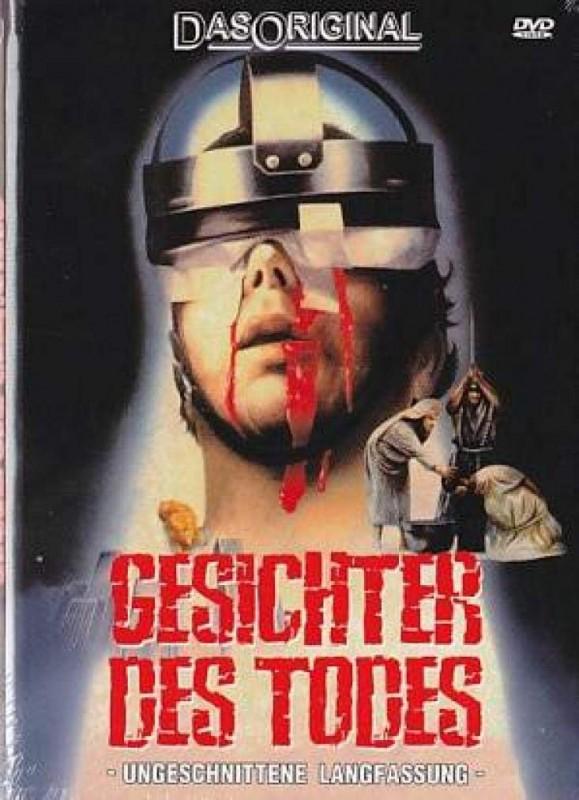 GESICHTER DES TODES KL. Hartbox Uncut DVD NEU