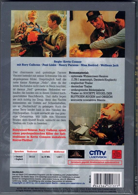 HOTEL ZUR HÖLLE  uncut KL. Hartbox DVD NEU