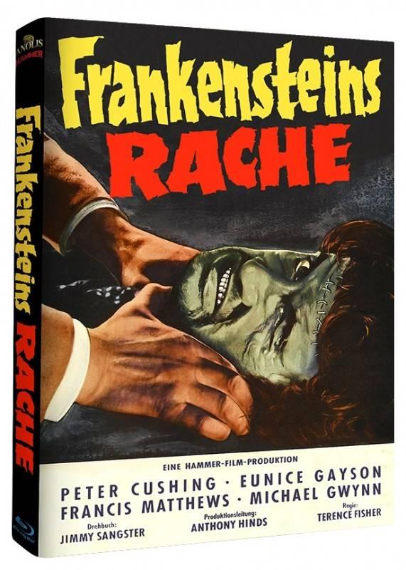 Frankensteins Rache Limited Anolis Mediabook Cover B