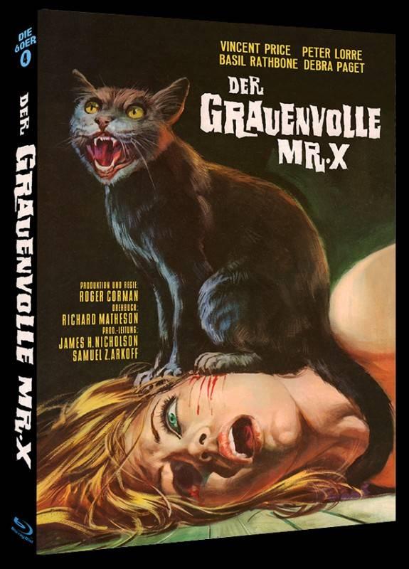 Der grauenvolle Mr. X Anolis Mediabook Cover B