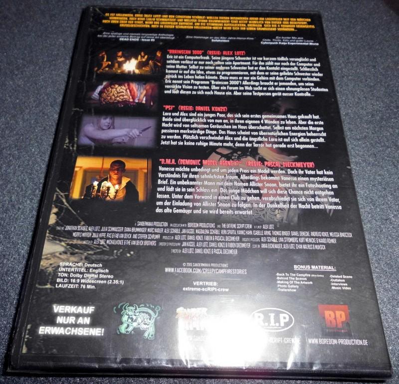 Creepy Campfire Stories DVD NEU & OVP Amateur Horror UNCUT