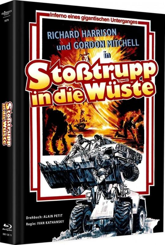 Stoßtrupp in die Wüste - DVD/BD Mediabook Lim 500 OVP