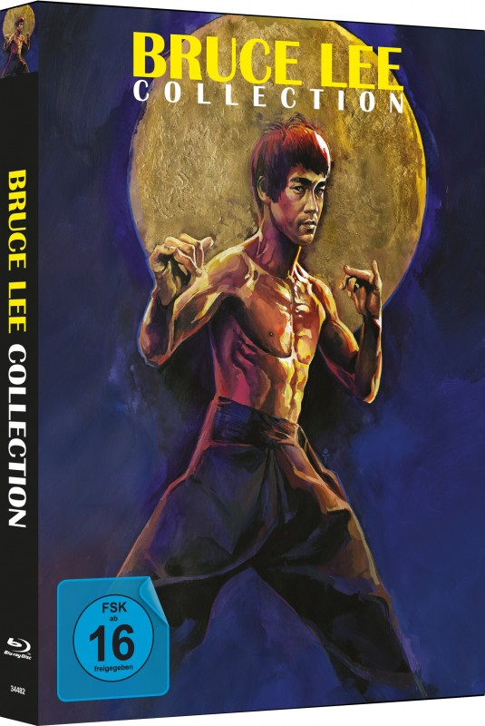 Bruce Lee Collection - 4Blu-ray Mediabook A Lim 333 OVP