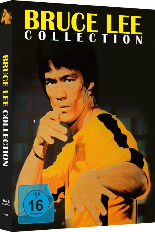 Bruce Lee Collection - 4Blu-ray Mediabook C Lim 333 OVP