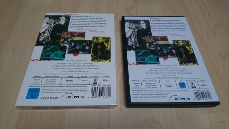 DER DÄMON MIT DEN BLUTIGEN HÄNDEN - DVD - Horror Kult