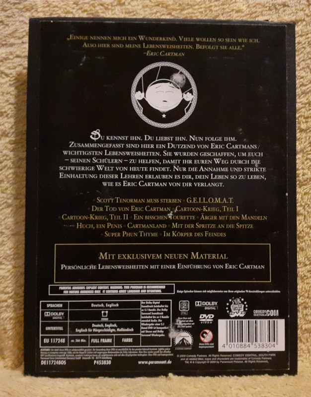 South Park: The Cult Of Cartman Revelations 2 DVD Box Uncut