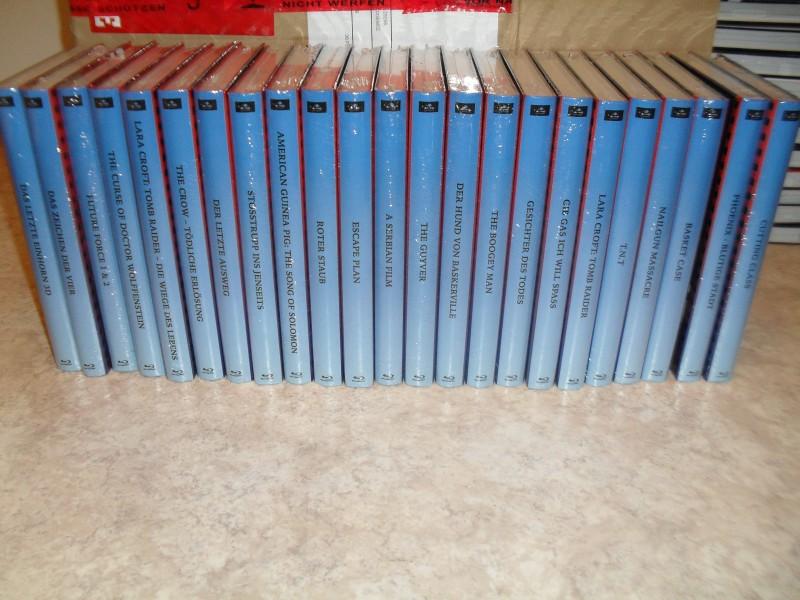 Ax-ploitation exklusiv: 23 Hardboxen Set - Komplette Astro-Reihe / Serbian Film, Das letzte Einhorn ... Limitiert auf 40