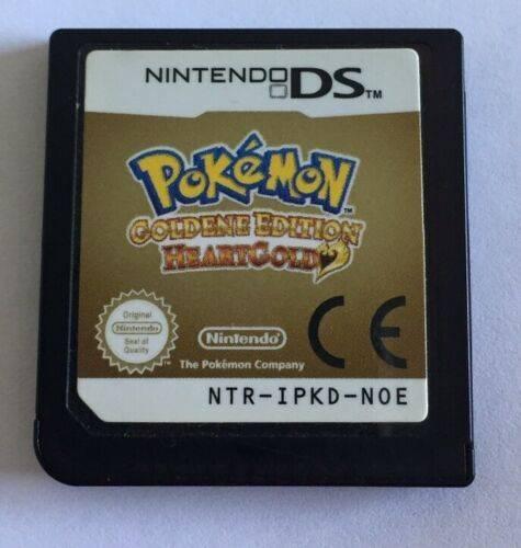 Pokemon - Goldene Edition- HeartGold - Nintendo DS - NUR Modul!!