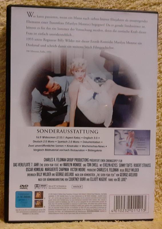 Das verflixte 7. Jahr DVD Marilyn Monroe Kult