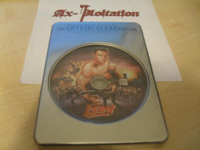 Ax-ploitation exklusiv: Leon - Jean-Claude van Damme / The Crystal Clear Edition - Limitiert 5/24 UNCUT Blu Ray