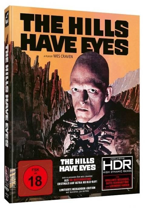 The Hills have Eyes - Mediabook (4k UHD+Blu Ray)
