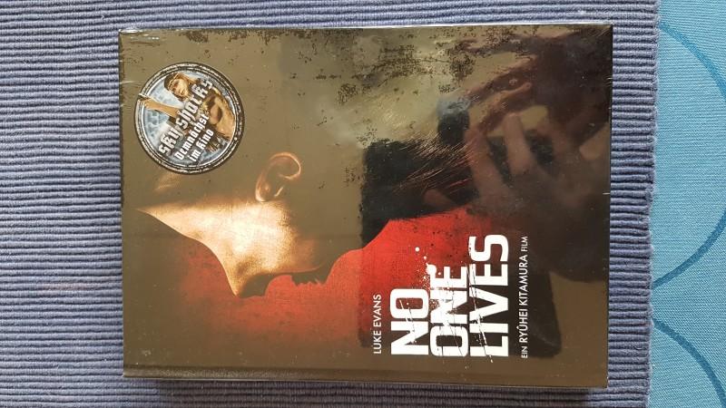 No One Lives - Blu Ray & DVD Mediabook - Cover A - NEU & OVP!