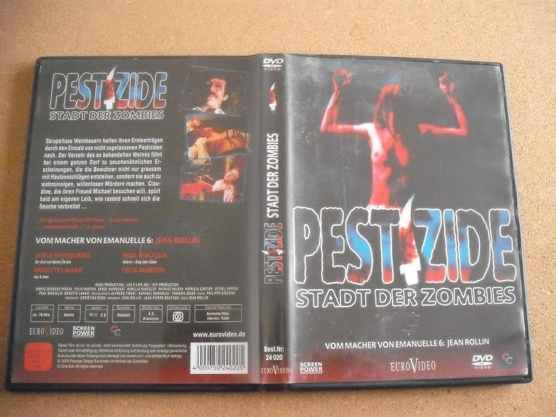 PESTIZIDE-STADT DER ZOMBIES-DVD