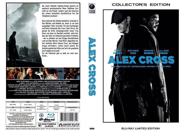Alex Cross - gr Blu-ray Hartbox Lim 50 OVP