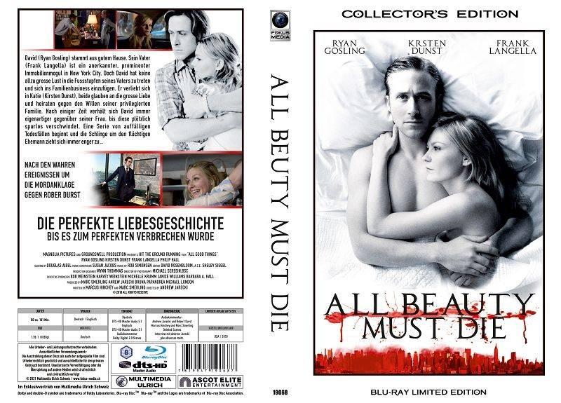 All Beauty must Die - gr Blu-ray Hartbox Lim 50 OVP