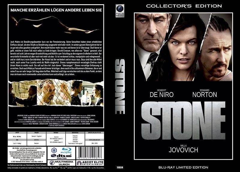Stone - gr Blu-ray Hartbox Lim 50 OVP