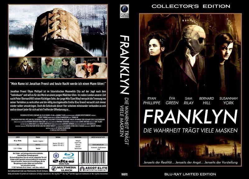 Franklyn die Wahrheit trägt.. - gr Blu-ray Hartbox Lim 50 OVP