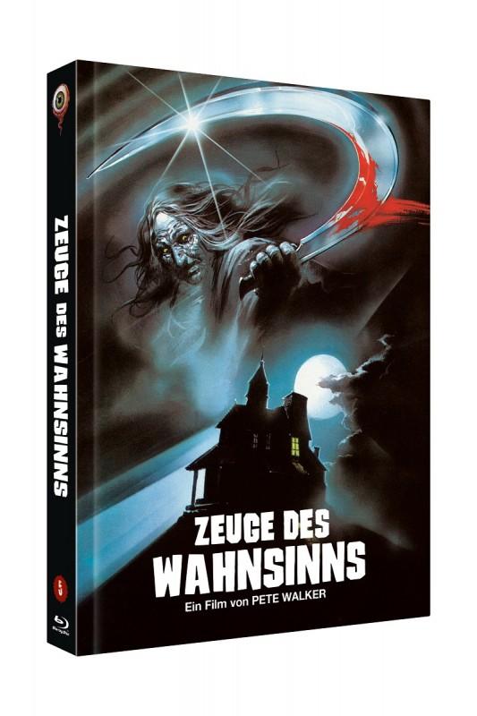 Zeuge des Wahnsinns - DVD/BD Mediabook B Lim 333 OVP