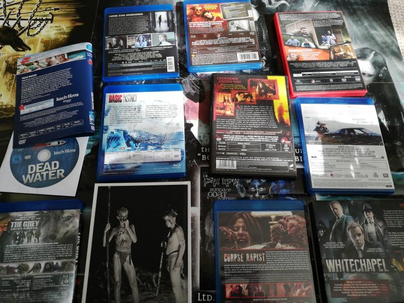 Filme Sammlung Blus,DVDs +Mediabook ab 1Euro