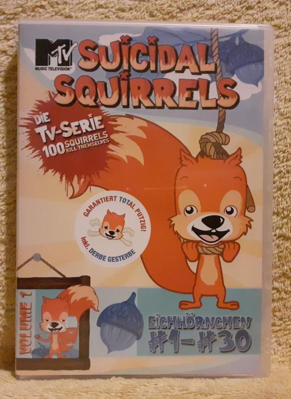 SUICIDAL SQUIRRELS Dvd MTV-Serie Episoden 1 bis 30